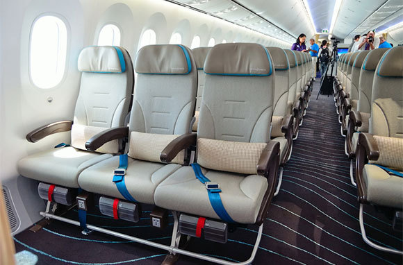 Choose an Aisle Seat Near the Front