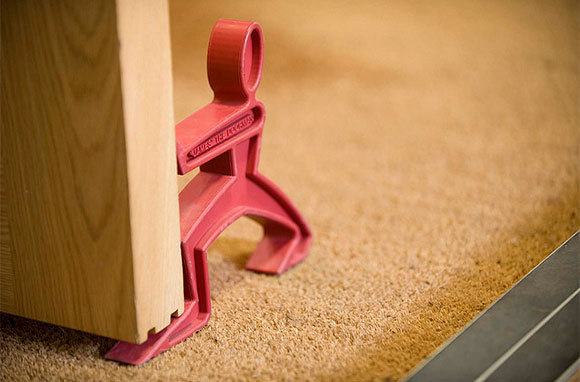 Turn Your Doorstop Into a Security Device