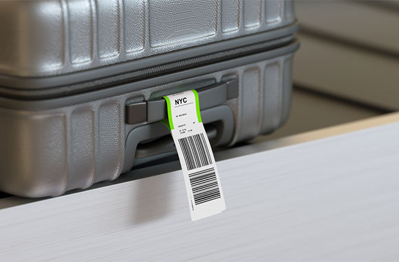 Remove Lint with a Baggage Tag