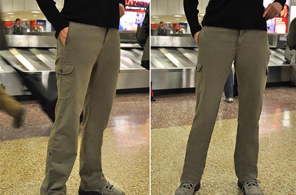 Clothing arts pickpocket-proof pants