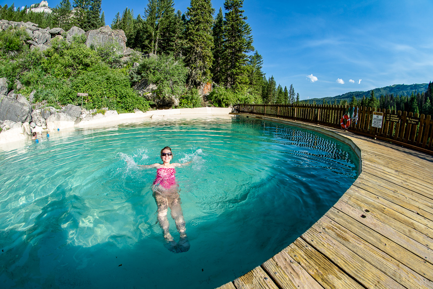 Granite Hot Springs, Near Jackson Hole, Wyoming