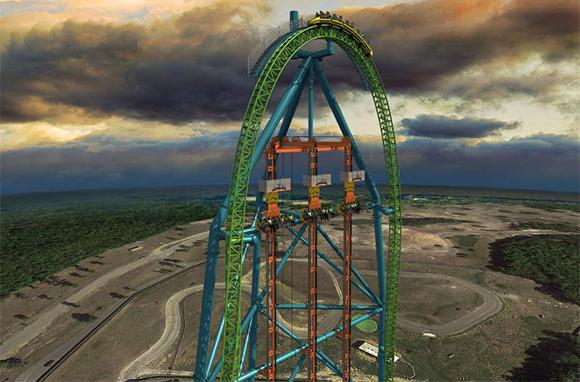 Zumanjaro: Drop of Doom, Six Flags Great Adventure, Jackson, New Jersey
