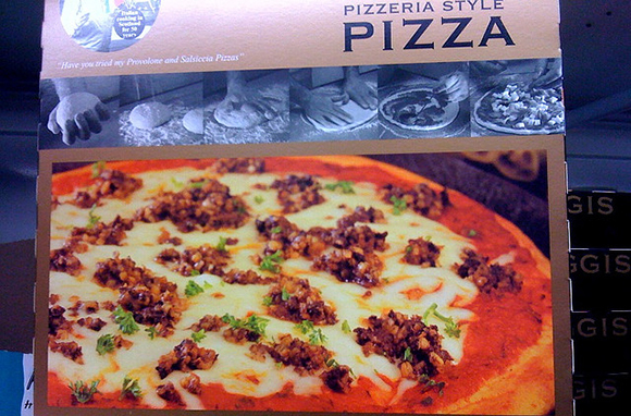 Haggis Pizza, Cosmo's Pizzas, Scotland