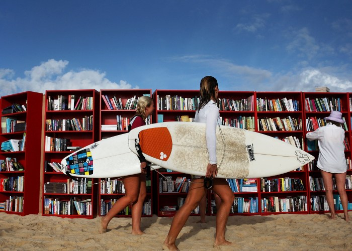 Beach Reads Get a Whole New Meaning