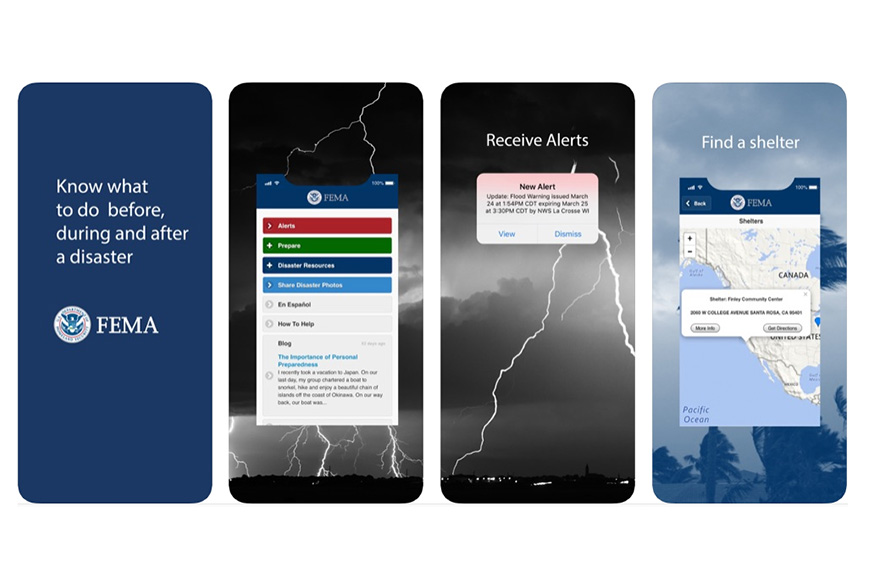 fema alerts app screenshots