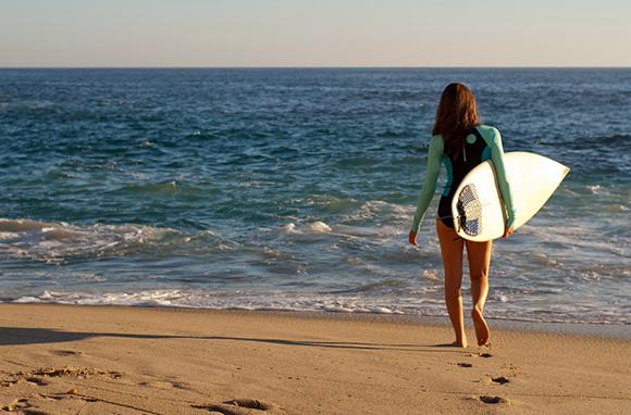 Surfing, Huntington Beach, California