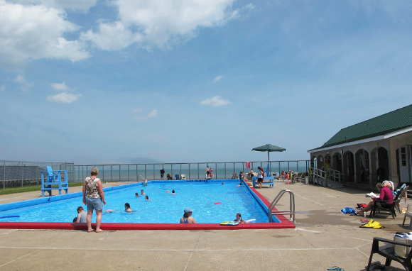 Saltwater Pool and Bathhouse, New Brunswick, Canada