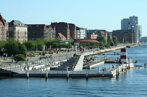 Harbor Bath at Islands Brygge, Copenhagen, Denmark
