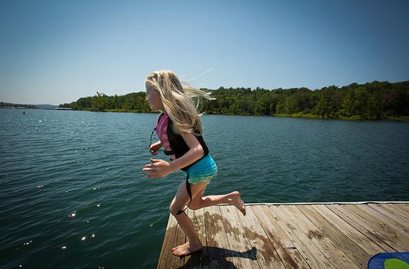 Table Rock Lake, Ozark Mountains, Missouri