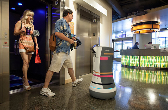 Tweets as Tips When the Bellhop Is a Robot