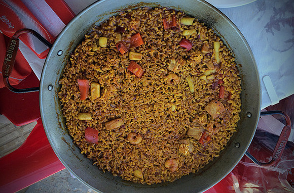 Paella Making in Spain
