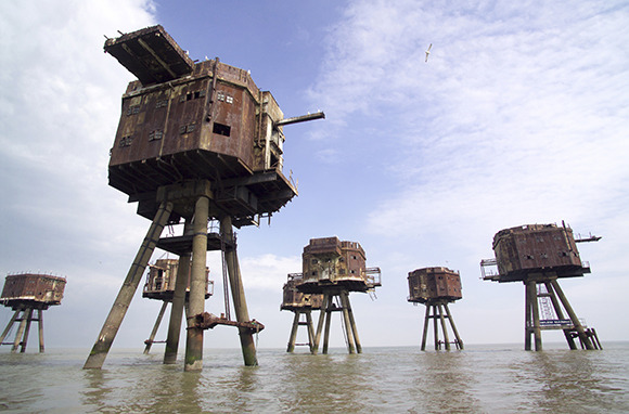 Maunsell Forts, England