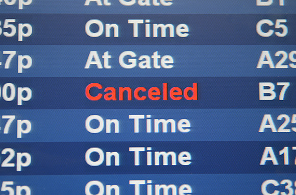 Flying in Bad Weather? Expect to Get Canceled