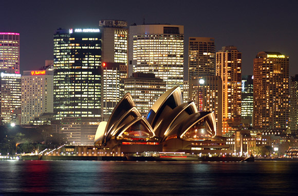 Sydney From Los Angeles And San Francisco Via American And Qantas
