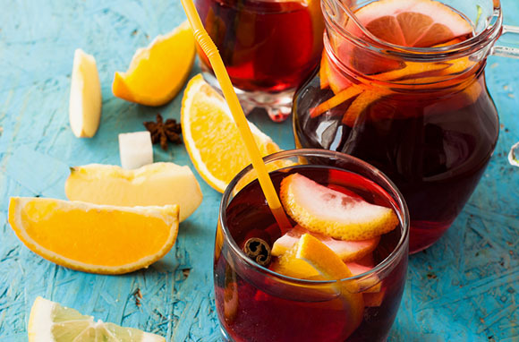 Cinnamon Orange Sangria