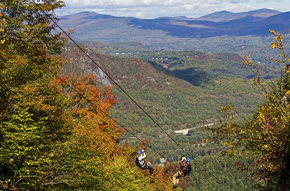 Ziplining in New Hampshire