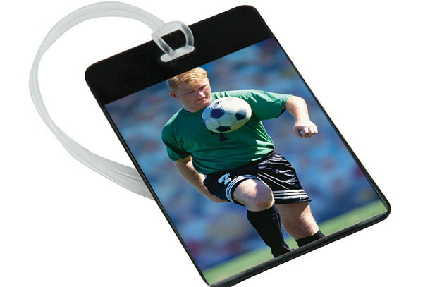 Pick of the Day: Personalized Photo Luggage Tag