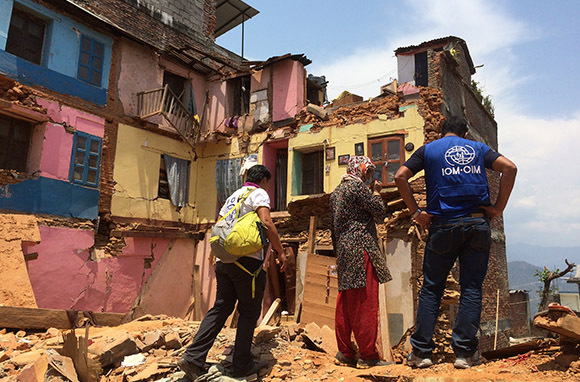 Disaster Relief in Nepal