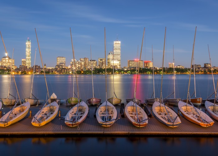 Things to do in Massachusetts: Boats in Boston Harbor