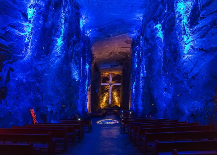 things to do in colombia salt cathedral