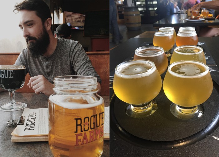 Portland beer Oregon and Maine