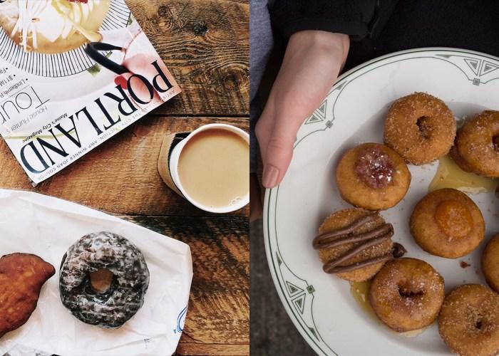 donuts Portland Oregon and Maine