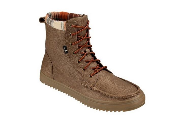 apres ski clothes Sanuk Men's Statton Deluxe Boot