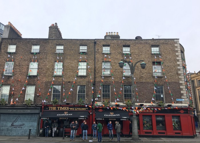 St. Patrick's Day in Ireland pubs
