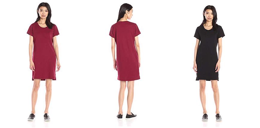 alternative cotton jersey t-shirt dress