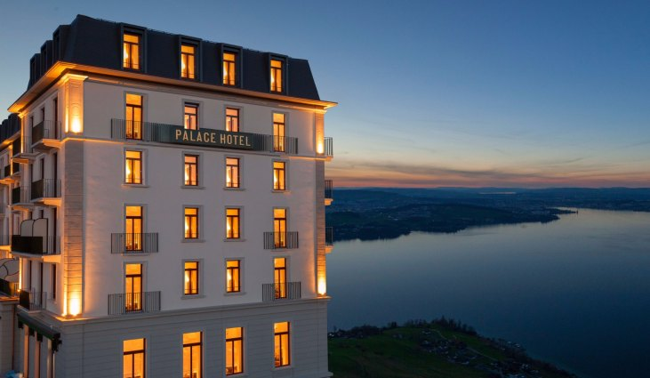 Mountain hotels burgenstock palace