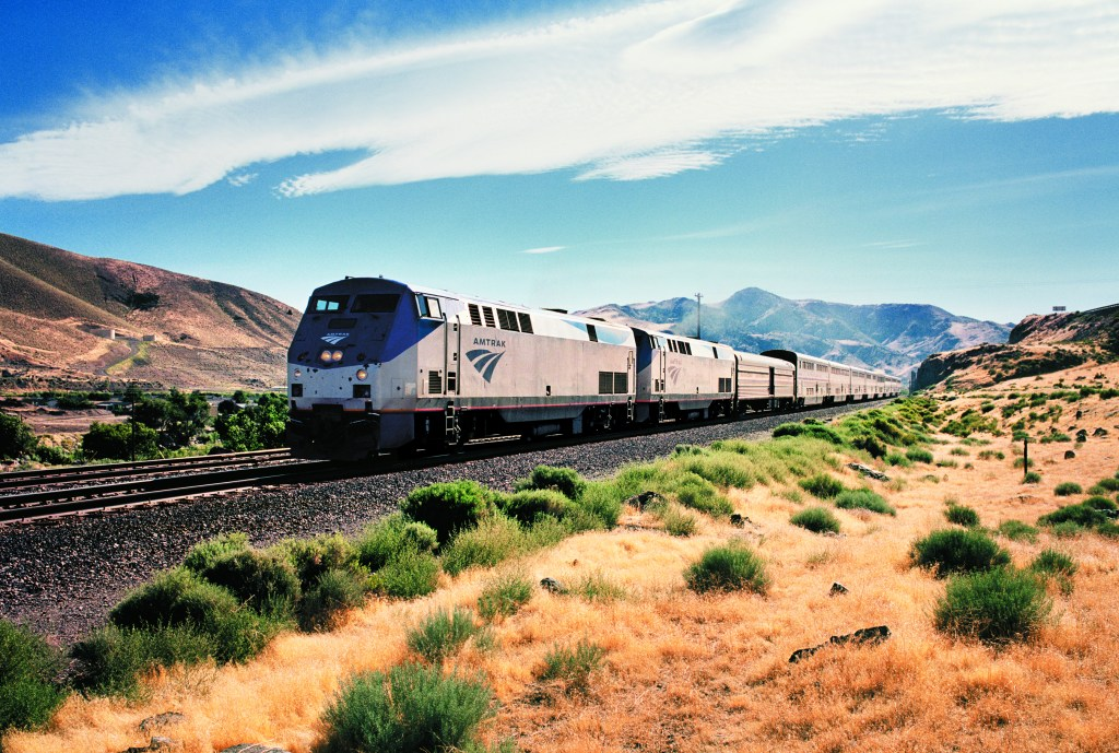 Amtrak california zephyr train journey