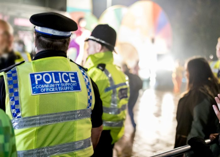 Police in England travel advisory