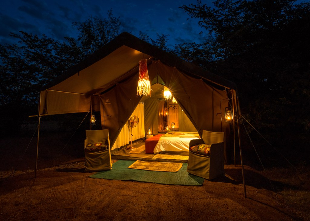 Hwangwe bush camp