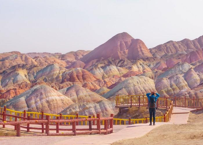 Most Colorful Places Rainbow Mountain China