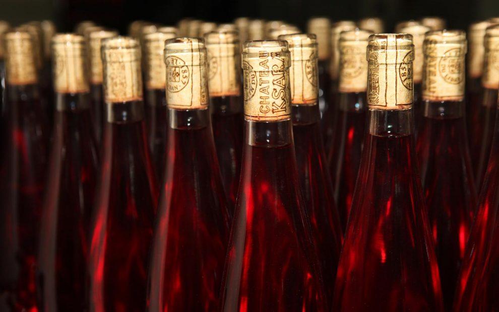 Beqaa, lebanon_ rose made by monks wine regions