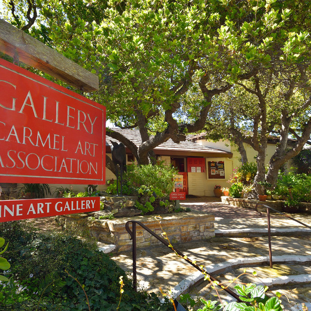 Gallery exterior in carmel-by-the-sea
