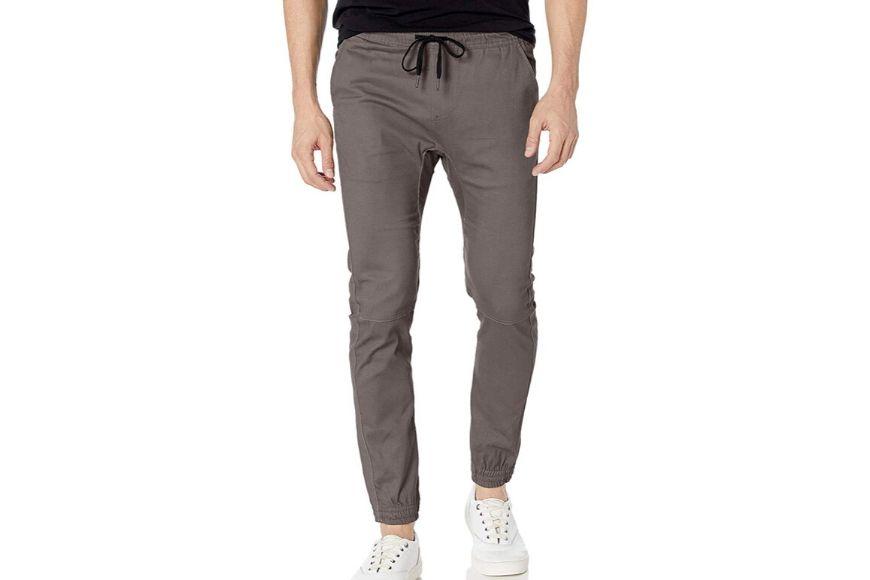 Brooklyn athletic men's twill jogger pants.