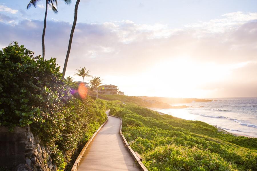 Hawaii Beach Boardwalk