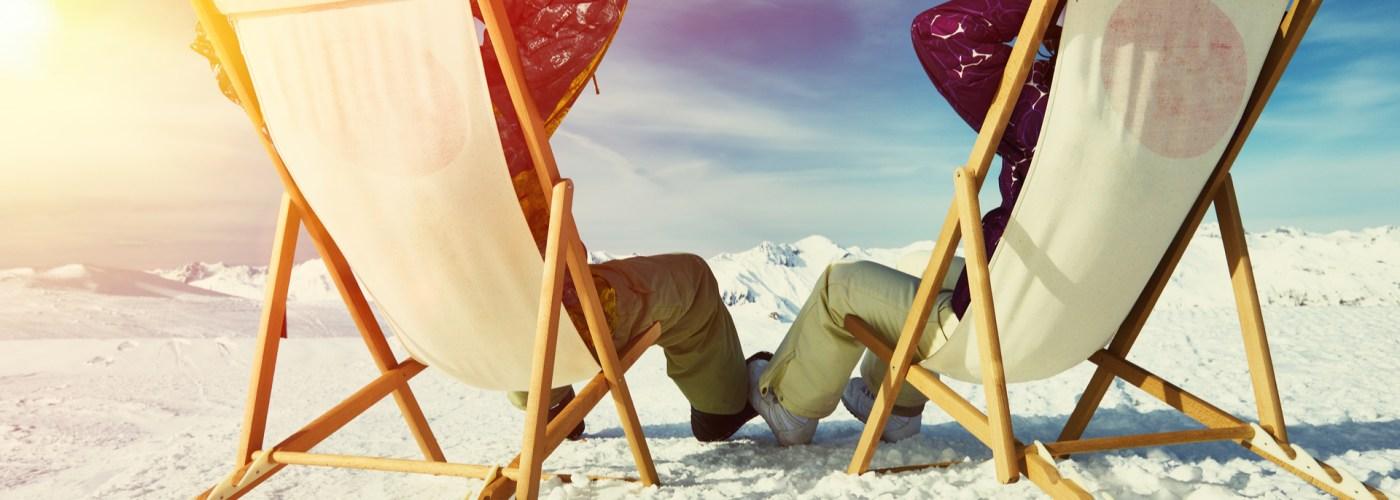 Apres-ski at a small ski resorts