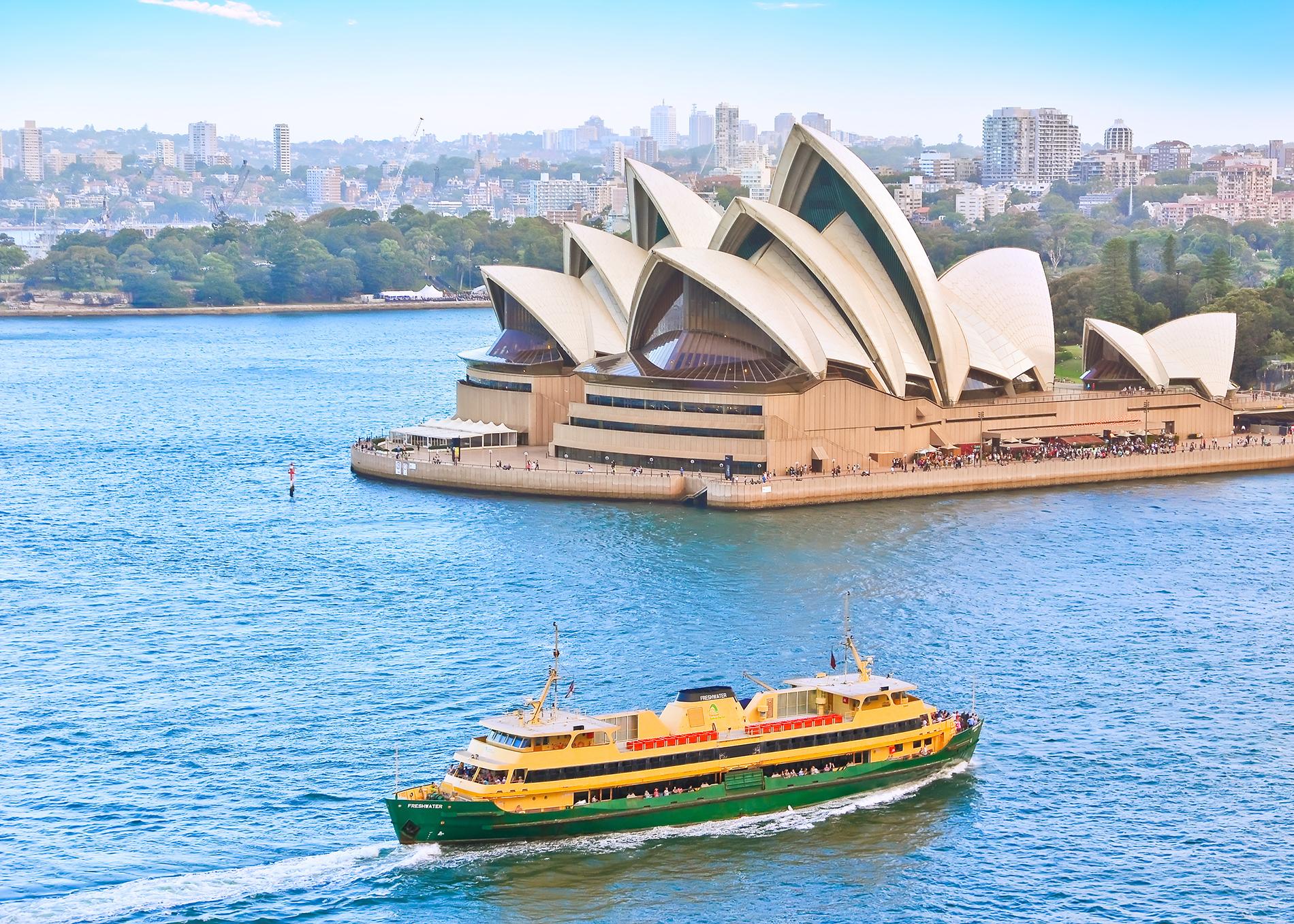 sydney opera house ferry