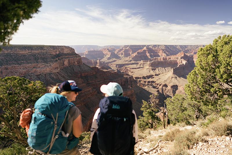 REI womens adventures grand canyon women's backpacking