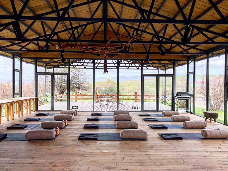 Souljourn yoga studio in tibet