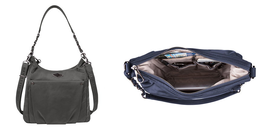 travelon anti-theft parkview hobo crossbody bag