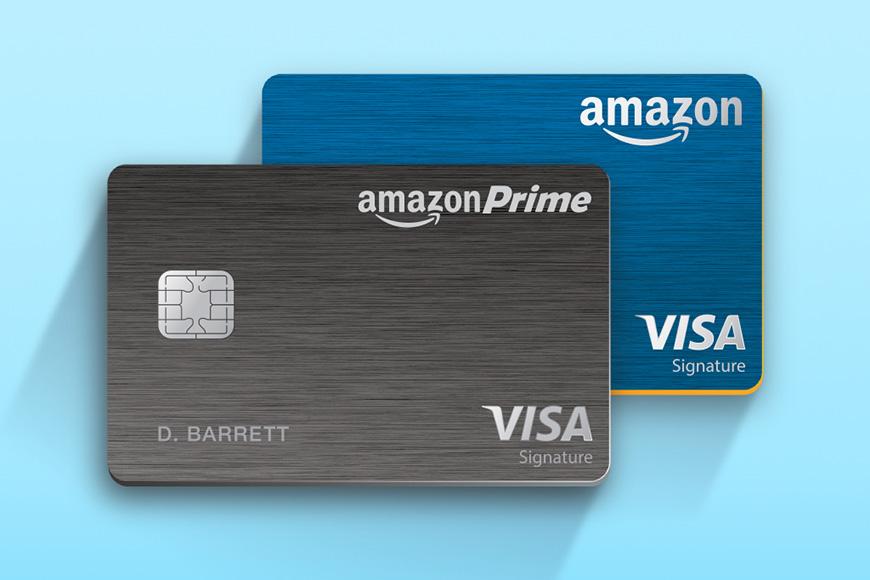 Amazon prime rewards visa signature card.