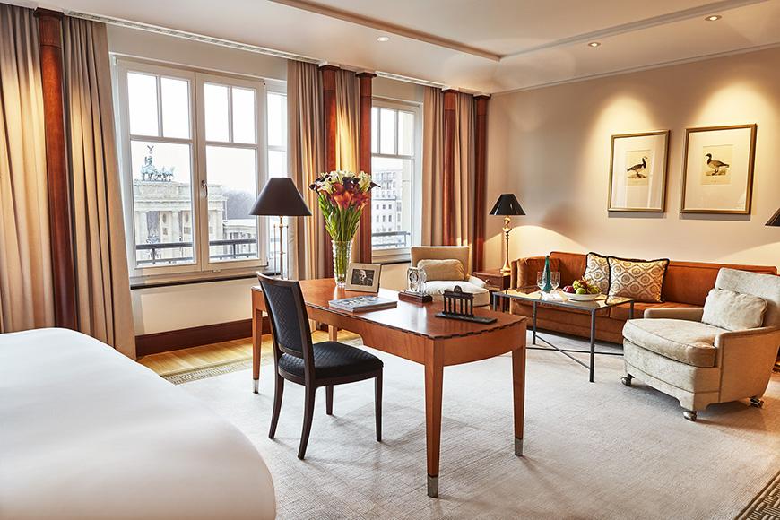 Hotel adlon kempinski brandenburg suite