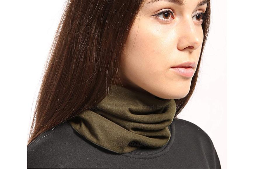 Tough headwear fleece neck and ear warmer