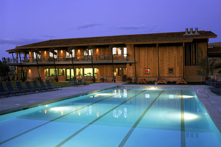 pool at spring creek ranch.