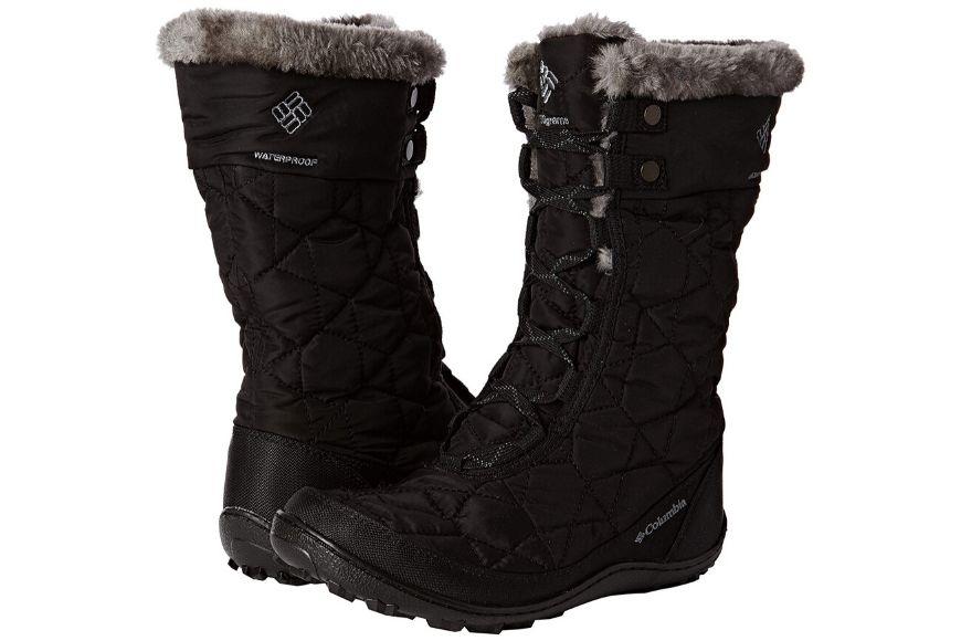 Columbia women's minx mid ii omni-heat winter boot.