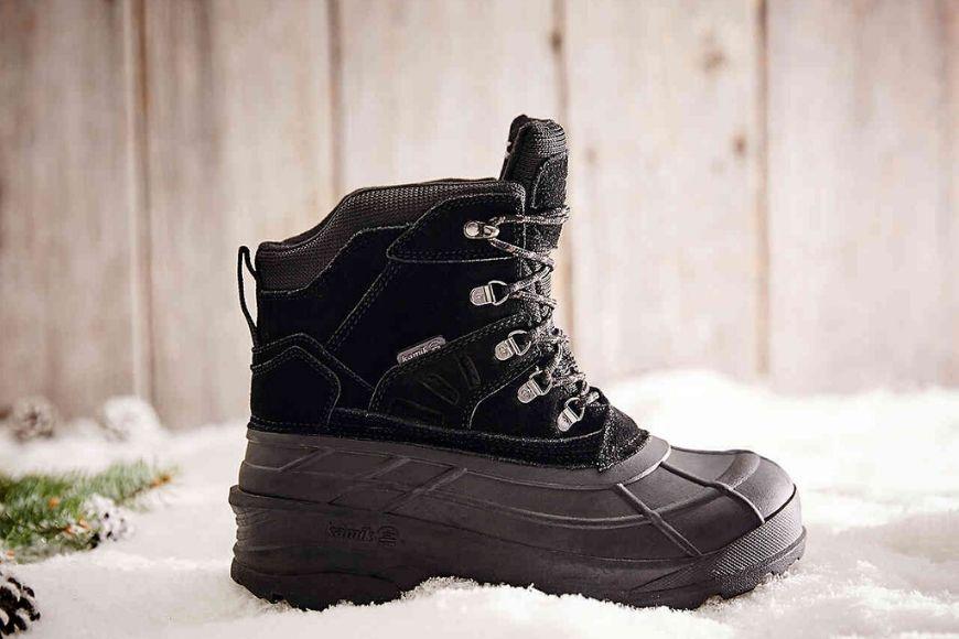 Kamik men's fargo pack snow boot.