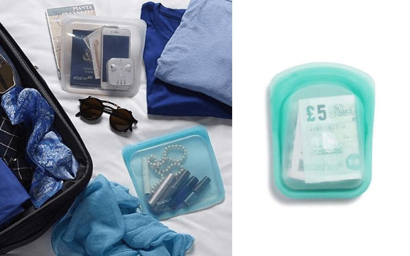 statsher silicone bag
